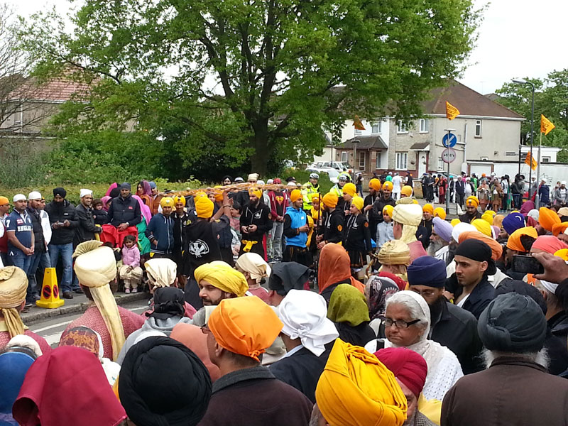 Increasing employer brand of TVP at the Vaisakhi celebration at the Slough Gurdwara Ramgarhia